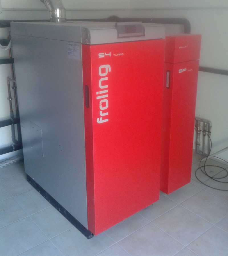 Installazione caldaia a Biomasse