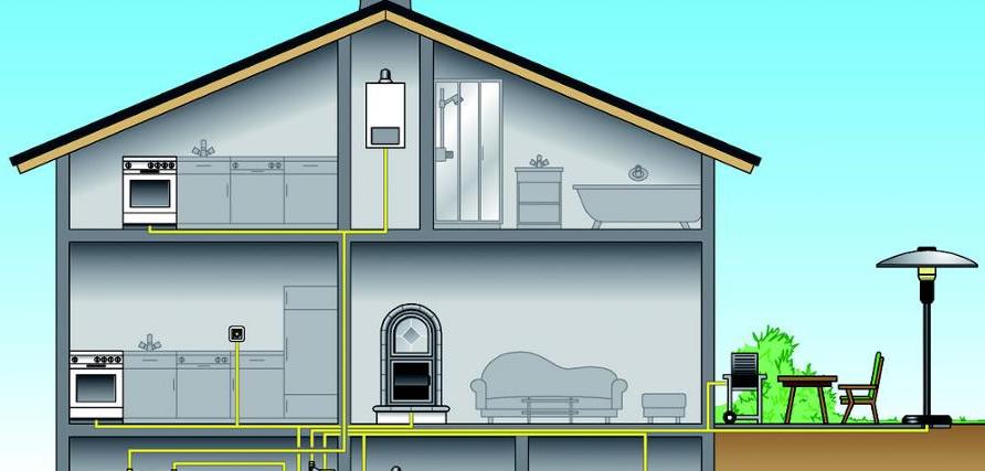 Progettazione ed installazione impianti gas metano e GPL anziende ed abitazioni