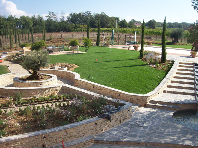 Impianto di irrigazione Anghiari