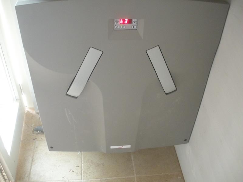 Impianto di ventilazione controllata azienda