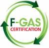 Logo certificazione F-GAS