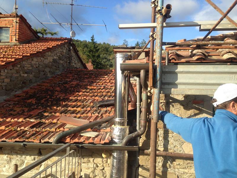 Opere lattoneria abitazione