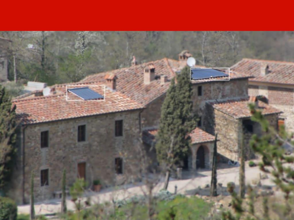 Impianto fotovoltaico agriturismo