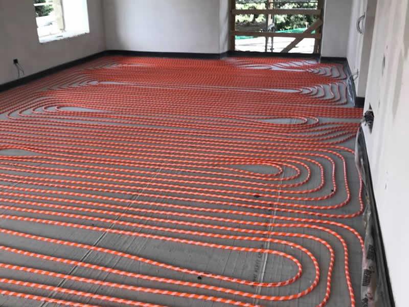 Sistema radiante riscaldamento e raffrescamento a pavimento Vichi Srl